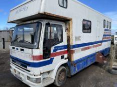 K reg IVECO HORSEBOX (LOCATION BLACKBURN) 1ST REG 06/93, RUNS & DRIVES, NO V5 (RING FOR COLLECTION
