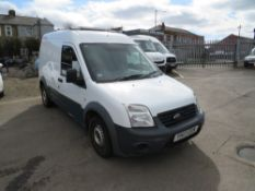 13 reg FORD TRANST CONNECT 90 T230 (NON RUNNER) (DIRECT UNITED UTILITIES WATER) 1ST REG 04/13,
