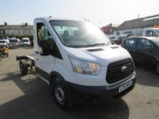 15 reg FORD TRANSIT 350 RWD CHASSIS CAB, 1ST REG 06/15, 94450M WARRANTED, V5 HERE, 1 OWNER FROM