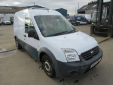 13 reg FORD TRANSIT CONNECT 90 T230 (DIRECT UNITED UTILITIES WATER) 1ST REG 06/13, TEST 05/21,