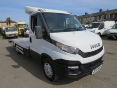 15 reg IVECO DAILY 35S11 RECOVERY TRUCK, 1ST REG 06/15, TEST 05/21, 124014M, V5 HERE, 1 FORMER