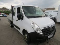 17 reg VAUXHALL MOVANO R3500 CDTI DROPSIDE - SELLING DUE TO IRON FILING FOUND IN OIL (DIRECT ELECTR