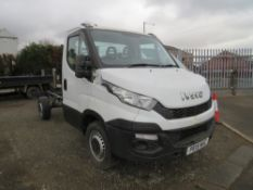15 reg IVECO DAILY 35S13 CHASSIS CAB (NON RUNNER) 1ST REG 04/15, 5000M ONLY WARRANTED, V5 HERE, 1