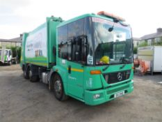 13 reg MERCEDES ECONIC REFUSE DISPOSAL (RUNS & DRIVES BUT ONLY FOR LOADING) (DIRECT COUNCIL) 1ST REG