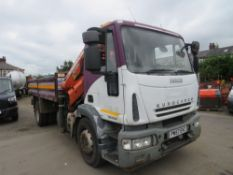 57 reg IVECO EURO CARGO ML180E25 TIPPER (RUNS & DRIVES BUT ONLY IN REVERSE) (DIRECT COUNCIL) 1ST REG