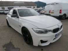 17 reg BMW M3 - IMPORT (DAMAGE REPAIRED - NOT RECORDED ON HPI) MANUFACTURED 2017, 1ST REG IN UK 08/