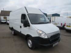 63 reg IVECO DAILY 35C13 AUTOMATIC SPECIALLY FITTED VAN, 1ST REG 10/13, TEST 10/21, 201545M
