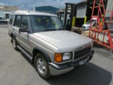 T reg LAND ROVER DISCOVERY TD5 GS, 1ST REG 06/99, TEST 02/22, 163620M, V5 HERE, 2 FORMER KEEPERS [NO