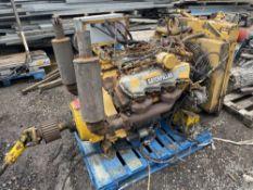 CATERPILLAR ENGINE, 684 HOURS (LOCATION BLACKBURN) (RING FOR COLLECTION DETAILS) [NO VAT]