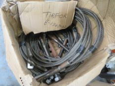 8 WIRE ROPES [NO VAT]