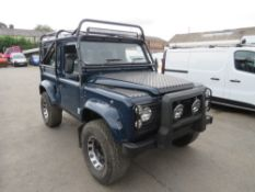G reg LAND ROVER 90 4C SW DT DIESEL 4 X 4, NEW GALV CHASSIS, 300 TDI ENGINE, 200 GEARBOX, NEW DOORS,