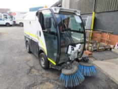 17 reg JOHNSTON SWEEPER (DIRECT COUNCIL) 1ST REG 06/17, 3741 HOURS, V5 HERE, 1 OWNER FROM NEW