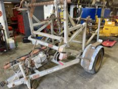 CLYDESDALE 3 DRUM CABLE TRAILER