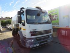 62 reg DAF FA LF55.220 SWEEPER (DIRECT COUNCIL) 1ST REG 11/12, TEST 03/22, V5 HERE, 1 OWNER FROM NEW
