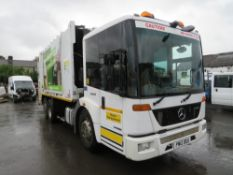 12 reg MERCEDES 2629 REFUSE WAGON (DIRECT COUNCIL) 1ST REG 04/12, 117680KM, V5 HERE, 1 OWNER FROM