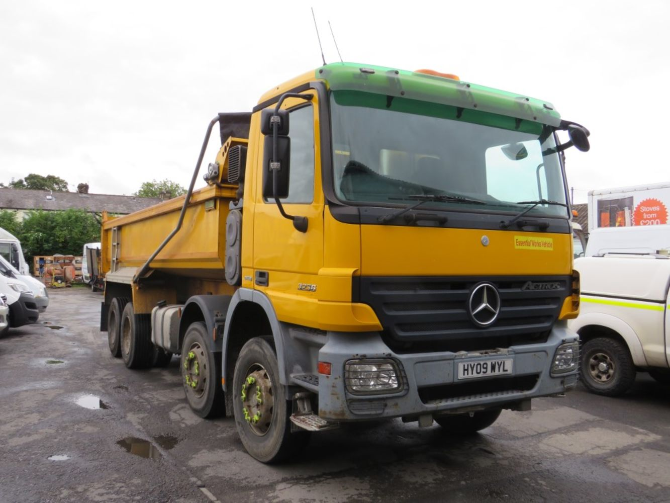 Light Commercial, Car, HGV, Plant, Machinery & Tool Auction, Direct council, Leasing companies, etc