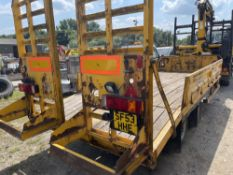 CHEIFTAIN TRAILER - SUITS POLE WAGON LOT 25A (LOCATION MIDDLEWICH) (RING FOR COLLECTION
