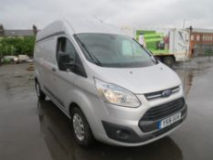 16 reg FORD TRANSIT CUSTOM 330 TREND L2H2, AIR CON, CRUISE CONTROL, ELECTRIC PACK, FRONT FOGS,