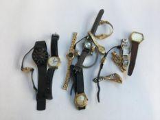 A mixed lot of gent's and ladies watches to include Accurist, Timex, Limit, Royce, Astral, etc
