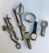 A mixed lot of various wrist watches, to include Buler, Sekonda, Timex, Tegrov, Citizen,