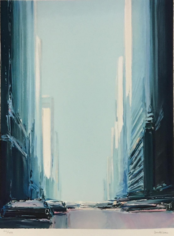 Donald Hamilton Fraser (1929-2009) Sailing, Daybreak, 1985, artist's proof II/XXV, silkscreen printe - Image 3 of 5