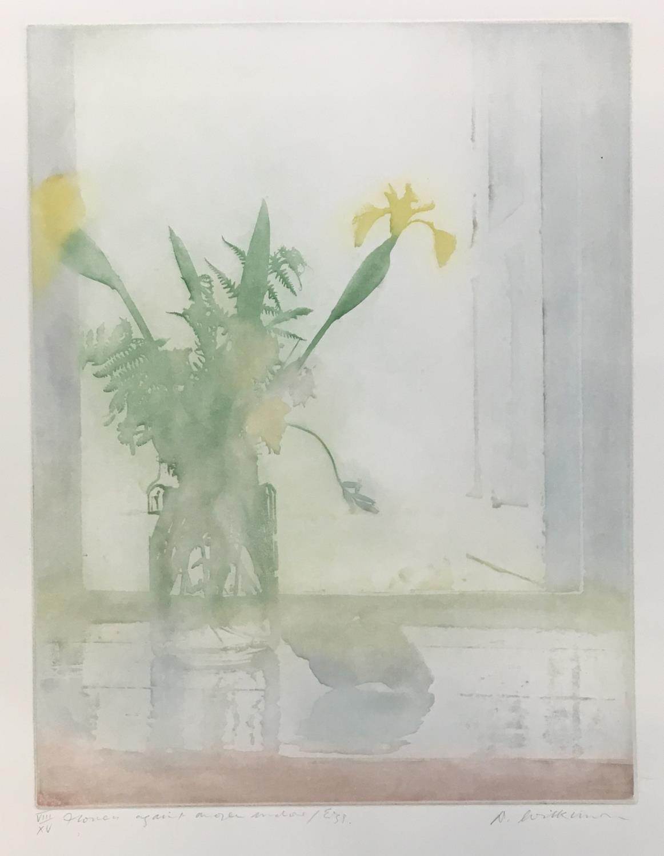 Donald Wilkinson (b.1937) Sound of Rhum/Storm approaching, Artist's Proof, 40cm x 47cm; Flowers - Image 3 of 6