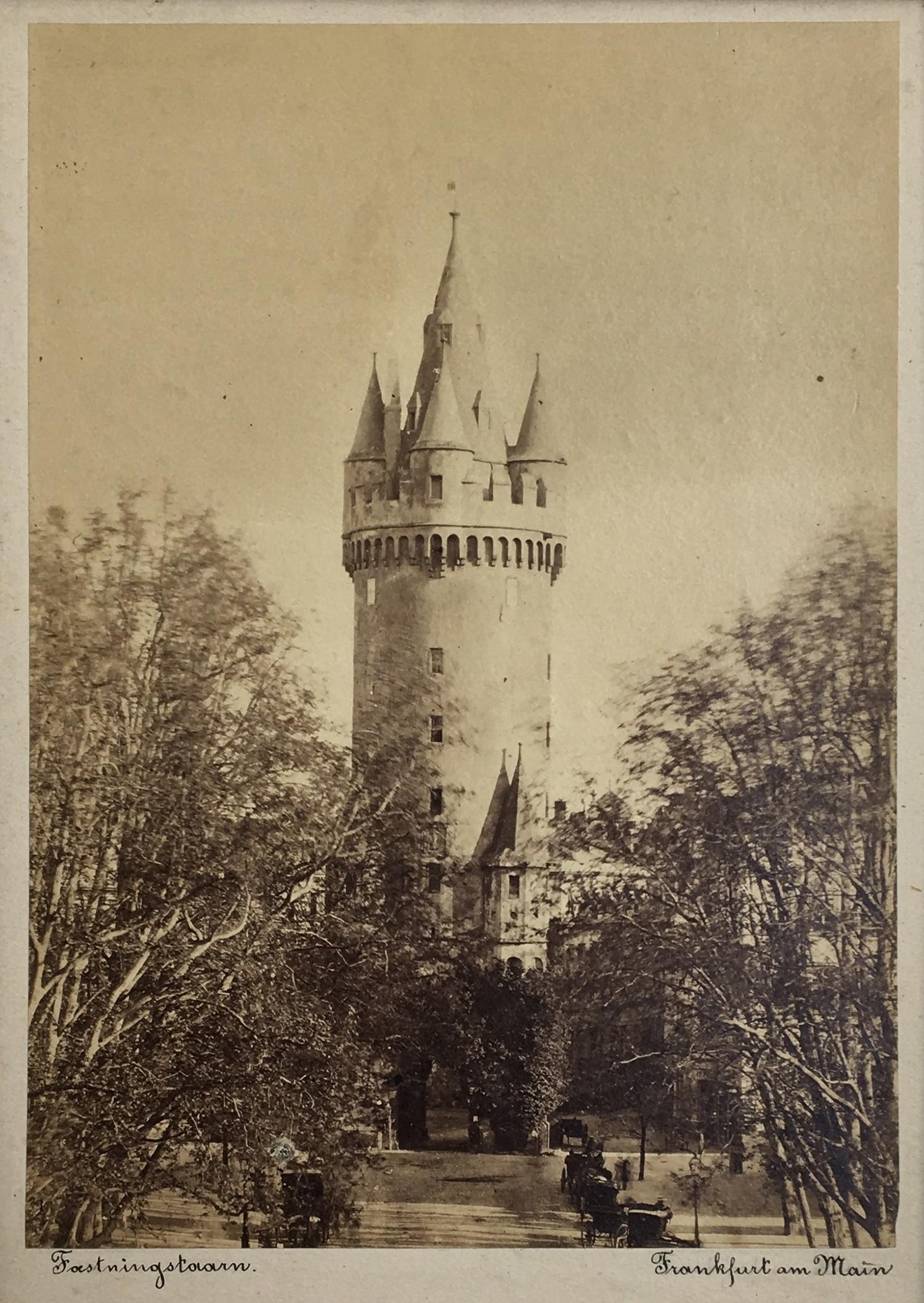 Karl Friedrich Mylius (German, 1827?1916) View of Eschenheimer Tor, Frankfurt am Main , ca. 1860?