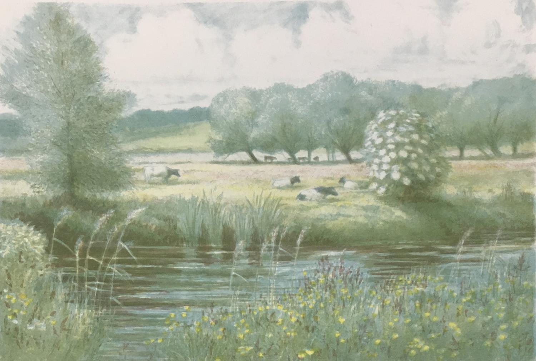 Donald Hamilton Fraser (1929-2009) Sailing, Daybreak, 1985, artist's proof II/XXV, silkscreen printe - Image 5 of 5