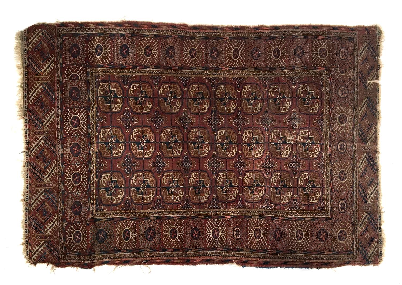 A Tekke Turkmen rug, 180x118cm