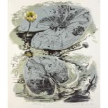 Gertrude Hermes OBE RA (British, 1901-1983), Waterlilly, lino-cut, signed and dated 'Gertrude Hermes