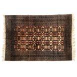 A Turkmen rug, 126x185cm