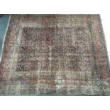 A large Ziegler mahal rug, 260x310cm