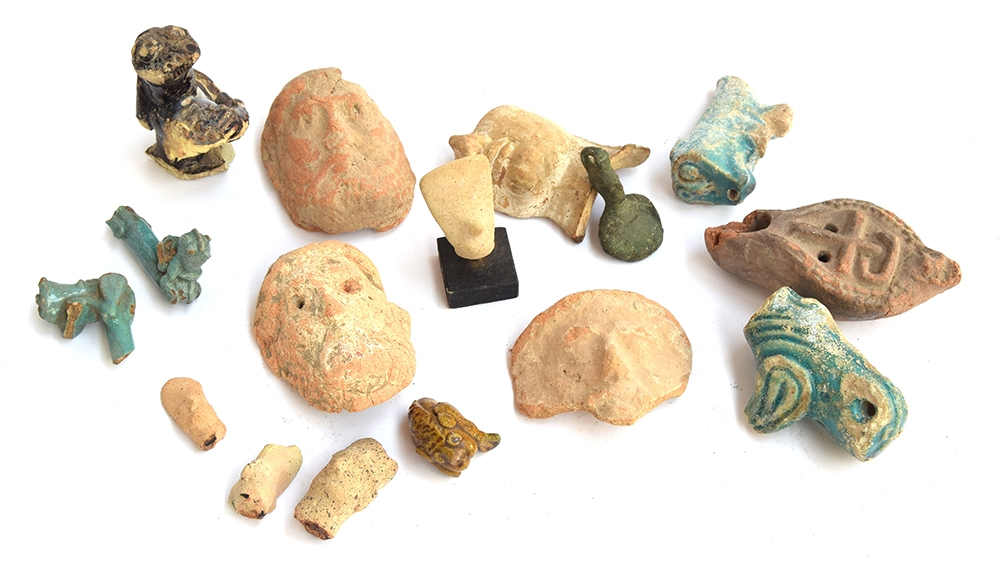 A miscellaneous group of Classical antiquities Circa 1st Millennium B.C. - Roman Period Including