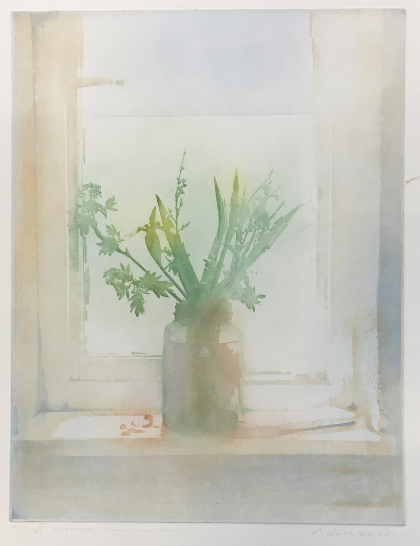 Donald Wilkinson (b.1937) Sound of Rhum/Storm approaching, Artist's Proof, 40cm x 47cm; Flowers - Image 5 of 6