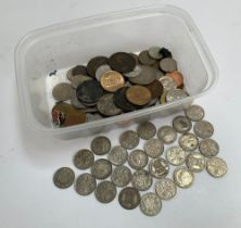 A collection of 27 sixpence coins from 1920, 1922, 1924, 1926, 1928, 1929, 1930, 1934, 1935, 1942,