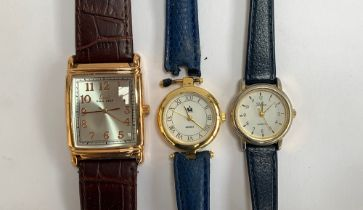 Three wrist watches: a Limit, Reflex, and one other (3)