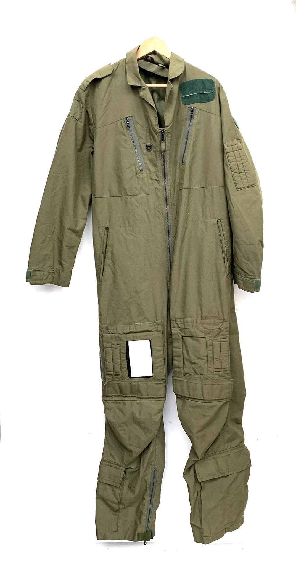 An RAF aircrew coverall Mk14A, size 9, chest 107/115; height 180/188