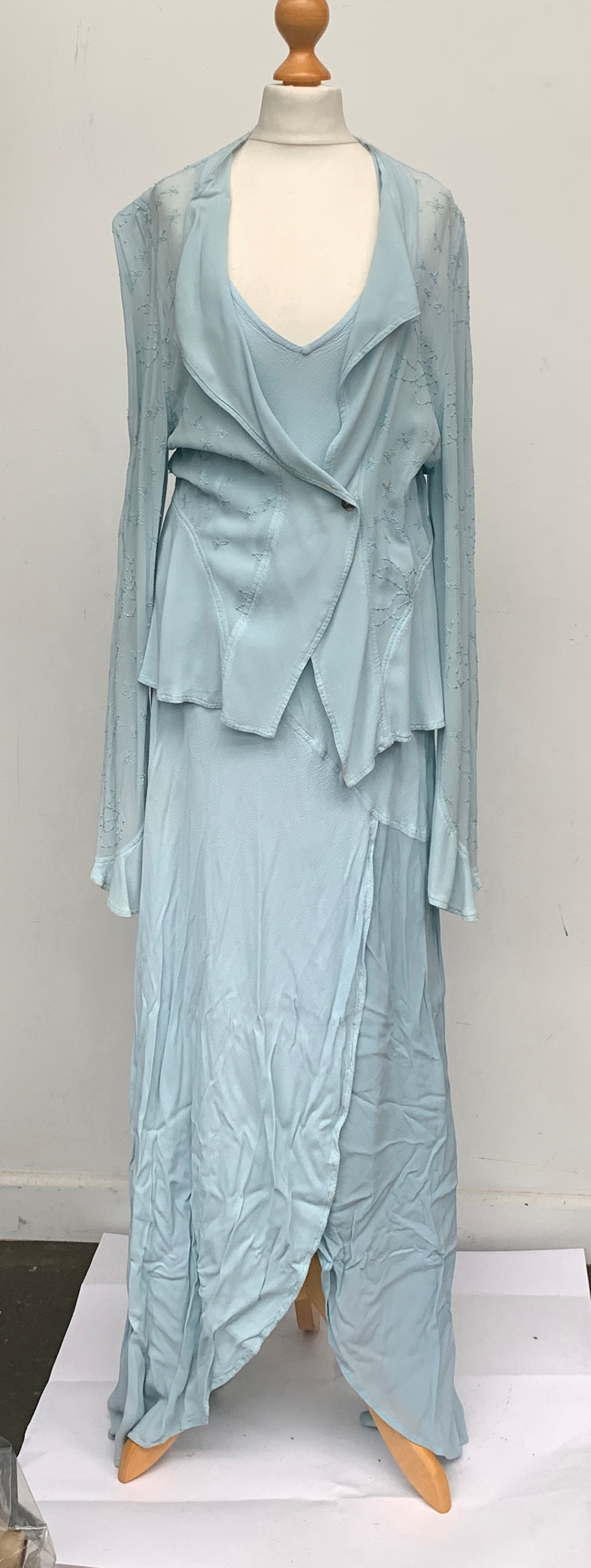 A Ghost jacket and dress, size medium, the dress medium the jacket large; together with a Donald
