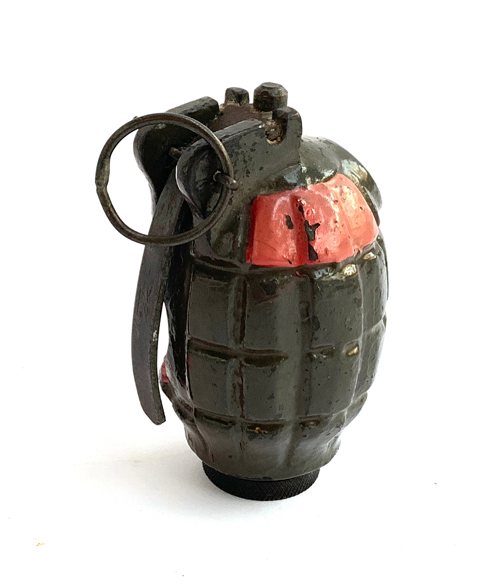 WW2 interest: a cross section of a British Army grenade - Image 2 of 2