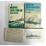 Naval interest: Sir Alastair Ewing KBE CB DSC, three books and associated papers; Connell, G.G, 'The