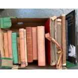 A good box of books, mainly on hunting to include John Leech's Pictures of Life and Character, 2