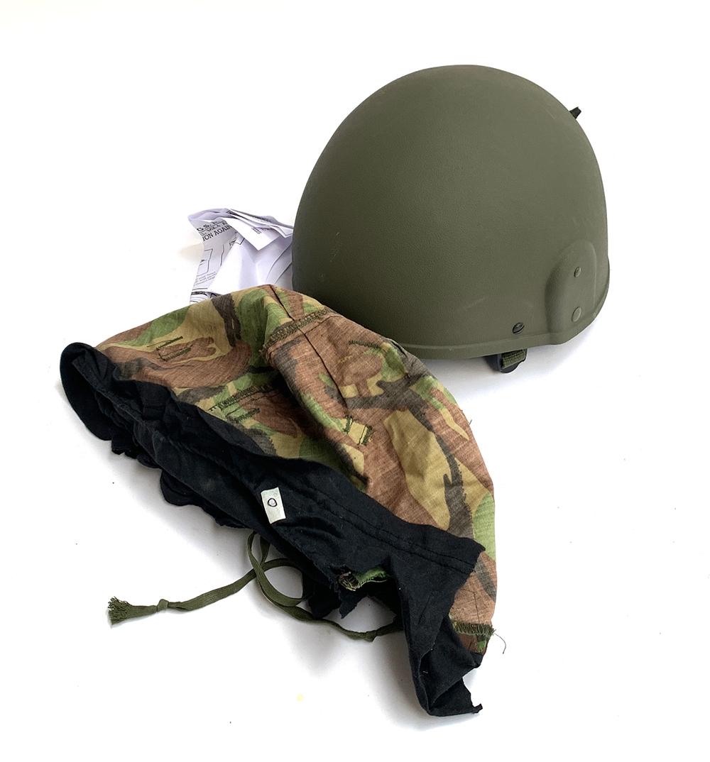 A British G.S. Mk6 army helmet (unworn)