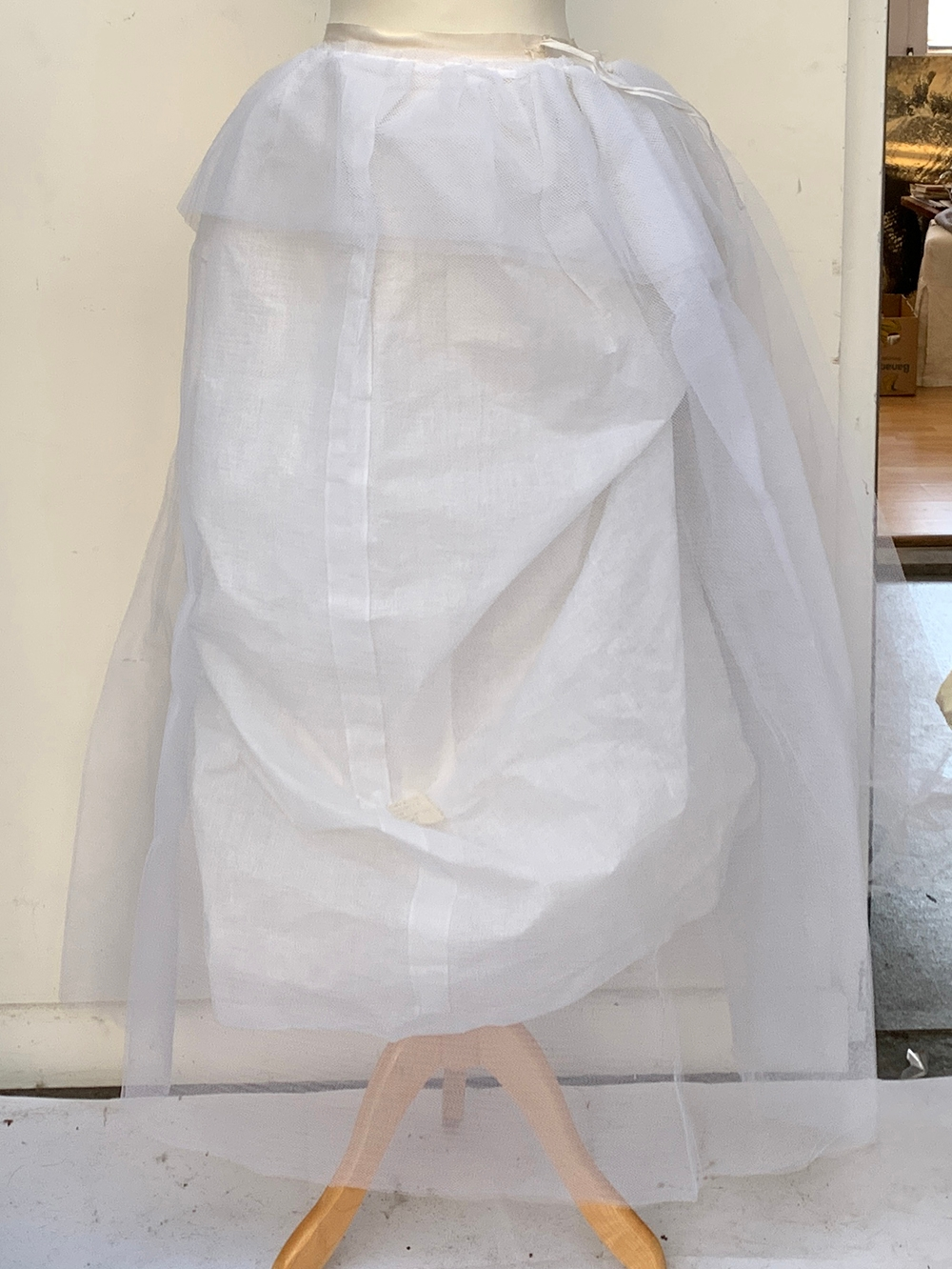 A vintage Lilywhites tennis skirt, together with an underskirt, hooped skirt, etc, in a large - Image 2 of 5