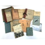 A quantity of Royal Air Force related literature, to include: Pilot's Notes for Mosquito TIII Merlin