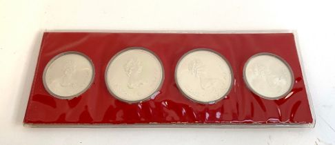A Canada Olympic Coin Set XXI Olympic Games 1976, by Western Coin Distributors