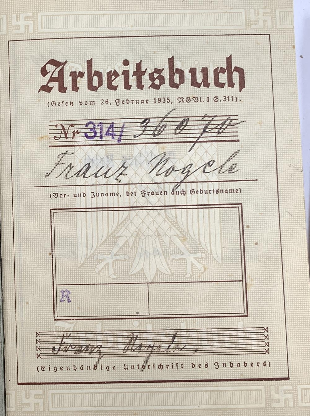 A quantity of German Third Reich and WWII related literature to include a 1939 Deutsches Reich - Image 3 of 10