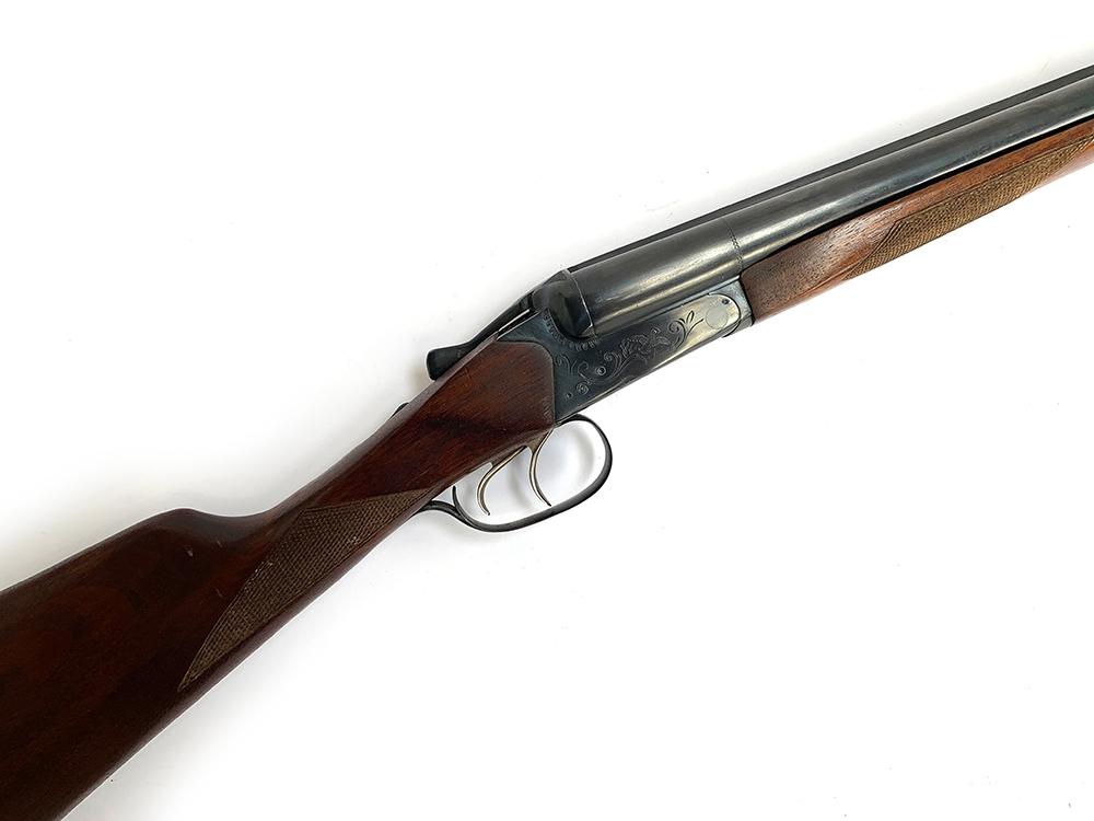 A Russian Baikal 12 bore side by side shotgun, length of barrel 64cm, model number 430EN, serial num