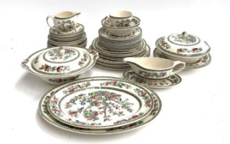 A Johnson Brothers Indian Tree part dinner service