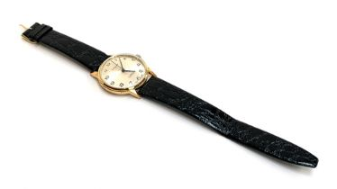 A Swiss gents Le Cheminant 17 jewels incabloc wristwatch