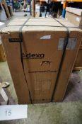 An Adexa compressor cooler/fridge, model CW-85, 80ltr, RRP £170.00 - Sealed new in box (ES7)